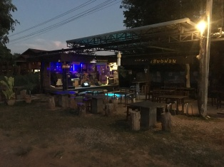 Wild Saturday night in Chiang Muan. Maybe it will be packed later?