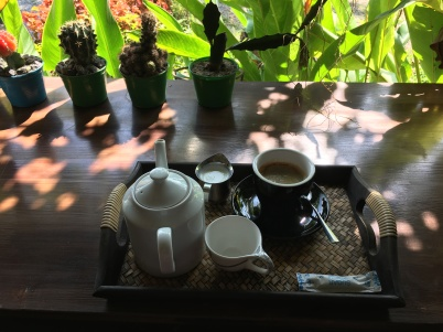 A pretty good cup of Americano in Baan Luang